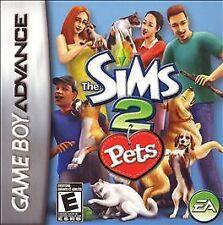 Sims 2: Pets - Game Boy Advance GBA Game