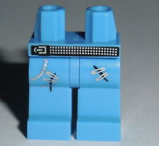 LEGS 016 Lego Med. Blue with Studded Belt ,Safety Pins NEW Boy Girl Rocker 8804