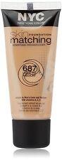 NYC 687 Light to Medium Vitamins A,C,E Skin Foundation Matching Cream
