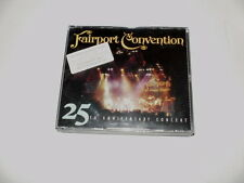 FAIRPORT CONVENTION - 25th Anniversary Concert - BOX 2 CD + BOOKLET - 1999 - NM