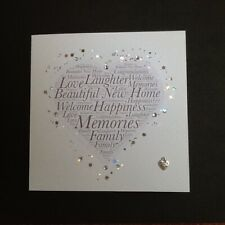 New Home - Moving House - Beautiful Hand Made Card / Keepsake