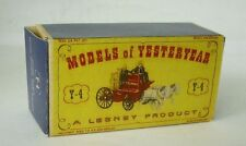 Repro Box Matchbox MOY Nr.04 Horse DRAWN Fire Engine