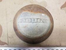 """(1) Vintage Dodge Dog Dish Cap 9"""" OEM"""