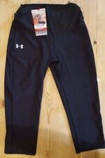 Under Armour Women's Embossed Heatgear® Capri Pant/Tight Black Medium 1204574