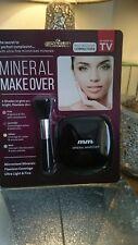 ~Foundation Concealer Mineral Makeover Make Up Powder Compact Brush SALE RRP£11~