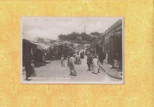 X Egypt 1908-29 antique RPPC real photo postcard ALEXANDRIA FORT OF NAPOLEON