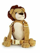Lion Child Walking Safety Harness Buddy Animal Backpack Reins Toddler