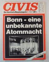 Zeitung Civis das illustrierte Monatsmagazin 5/1967 Heft 1960er Jahre B8520