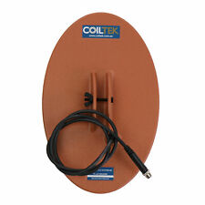 """Coiltek 14"""" x 9"""" Elliptical Gold Extreme Search Coil for Minelab SDC 2300 Metal"""