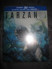 BLURAY TARZAN ULTIMATE EDITION FRANCAIS 3D DVD STEELBOOK BLU-RAY ULTRAVIOLET