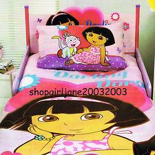 Dora the Explorer Darling Dora & Boots - Single/Twin Bed Quilt Doona Duvet Cover