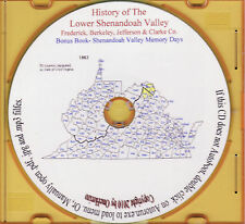 Lower Shenandoah Valley History - 4 VA & WV Counties - Holiday SALE