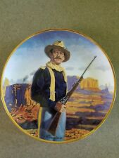John Wayne Hero of the West Limited Collectors Plate
