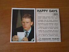 FIGURINA - HAPPY DAYS n.223 -ED.PANINI 1979 - COMPLETA DI VELINA