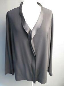 ESCADA Women's size 46 Black Tunic Top Blouse