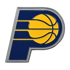 Indiana Pacers NBA Color Metal Car Auto Emblem Team Decal Logo Ships Fast