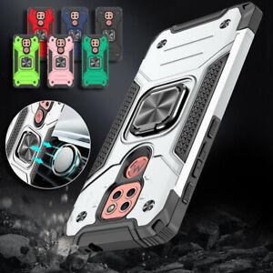 Metal Ring Stand Anti-drop Case for Motorola MOTO G9 Play G9 Plus G8 Power Lite