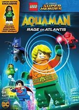 LEGO DC Super Heroes: Aquaman: Rage of Atlantis (w/mini figurine) [New DVD]