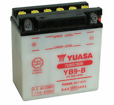 Batterie Yuasa moto YB9-B ITALJET Torpedo 99