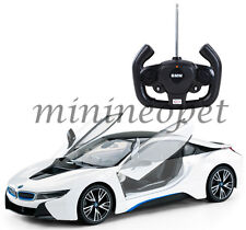 Rastar 71000 R/C Radio Remote Control Car Bmw i8 1/14 White