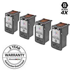 4 PG-210XL PG-210 XL HY Black Printer Reman Ink Cartridge for Canon PIXMA MX320