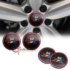 4PCS 56.5mm MUGEN POWER HONDA Aluminum Car Wheel Center Hub Cap Stickers Emblems