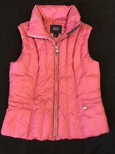 Nils Vest-Goose Down-Women-Sz8-Hot Pink-Shell-lining/Polyester-Zip Up/Inner Pkts