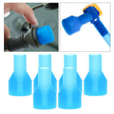 New listing 6 piece silicone bite valve for 90 degree drinking backpack nozzle bubbles