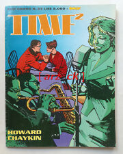 Best Comics n 32 TIME 2 Howard Chaykin COMIC ART