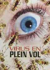Killer Buzz / Virus en Plein Vol (DVD French cover) Rutger Hauer NEW