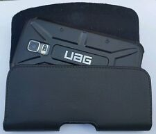 FOR MOTOROLA DROID TURBO 2 BELT CLIP LEATHER HOLSTER FIT A UAG  HYBRID CASE ON