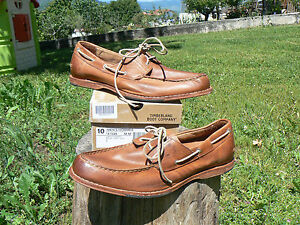 NUOVO Timberland Boot Company 47539 Counterpane n.44 scarpe mocassino uomo