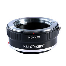 Lens Mount Adapter for Minolta MD MC Lens to Sony NEX E Mount A7 A7R K&F Concept