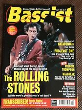 Bassist Magazine April 1998 The Rolling Stones