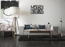 Christmas Vinyl - MERRY CHRISTMAS - X-Mas Window, Wall Art, Decal Sticker
