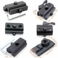 6 Types Sling Swivel Stud to 11/ 20 mm Picatinny/Weaver Rail Bipod Mount Adapter