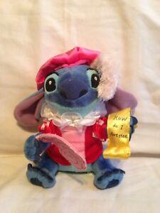 Vintage Disney Lilo Stitch Stuffed Plush Toy Prince Charming How do I love thee