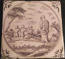 DELFT ceramica MATTONELLA ORIGINALE XVIII S.