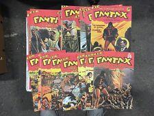 FANTAX sequenza completa da 1 a 24 edizioni Western De Leo Camillo Conti