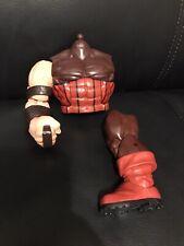 Marvel Legends Juggernaut action figure X-Men BAF parts Incomplete Lot
