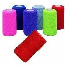 "Andover Coflex-Vet 4"" Bandaging Tape Flexible Wrap Equine 18 Count Color Pack"