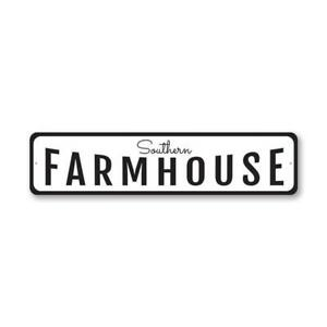 Southern Farmhouse Farmhouse Sign, Barn Decor Metal Sign