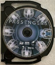 PASSENGERS 3D BLU RAY 1 DISC ONLY FREE WORLD WIDE SHIPPING BUY IT NOW NO CASE