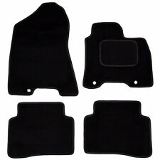 Hyundai Tucson Mk3 2015 onwards Tailored Carpet Car Mats Black 4pc Floor Mat Set