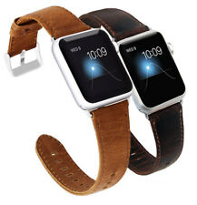 New Leather Wrist Watch Strap Band Belt for Apple Watch Series 4 40mm 44mm