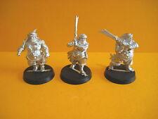 Señor de los anillos-Harad - 3x metal abrakhan guards-guardianes de abrakhan