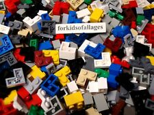 50 Lego 2x2 CORNER BRICKS & PLATES Flats Random Mixed House Castle Parts/Pieces