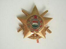 HUNGARY SOCIALIST MILITARY BADGE MEDAL 1ST CLASS. VF+