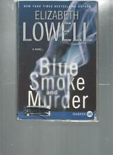 ELIZABETH LOWELL - BLUE SMOKE AND MURDER -  LARGE PRINT - LP165