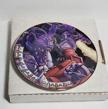 Transformers Botcon 2002 Collector Plate #224/400!  RiD Optimus vs. Megatron!